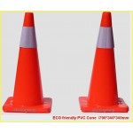 PVC Road Cone/Super Reflective cone/Traffic cone/Highway cone/ECO friendly traffic cone/road cone