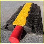 yellow jacket cable protector/cable speed ramp/rubber cable cover/rubber cable protector