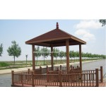 wpc pavilion/wpc pergola/wpc garden pavilion/wpc garden pergola