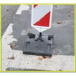 Rubber base/Hose Ramp/Fire Hose Ramp/Rubber sign