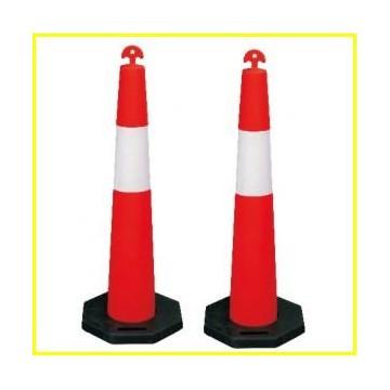 PVC cone/Plastic Cone/Delineator Post /Delineator Cone/Traffic Bollard /T Top Temporary Bollard