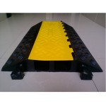2 Channel Cable protector/Cable protector/Cable ramp/Cable speed hump